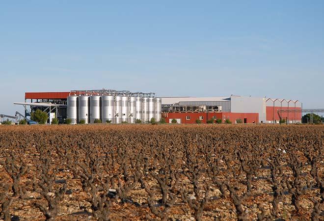 Restructuration cave coopérative Arnaud de Villeneuve stockage bureau d'études vinicoles INGEVIN