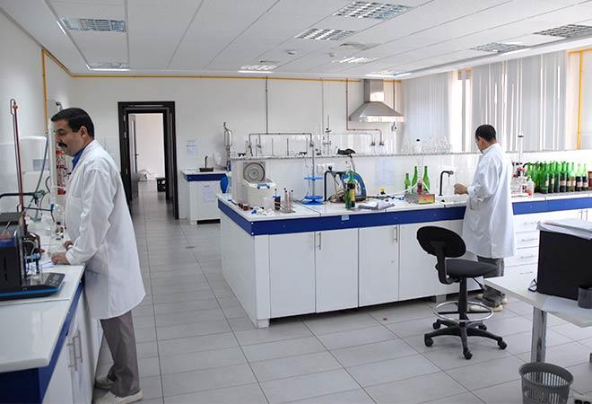 Création Unite de conditionnement Celliers de Meknes labo Maitrise d'oeuvre viticole INGEVIN
