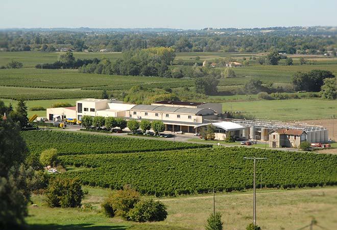 Restructuration cave coopérative Saint Pey de Castets batiment vinicole maitrise d'oeuvre vinicole INGEVIN