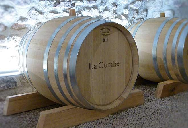 Création cave vinicole Domaine La Combe tonneaux bureau d'ingénierie vinicole INGEVIN