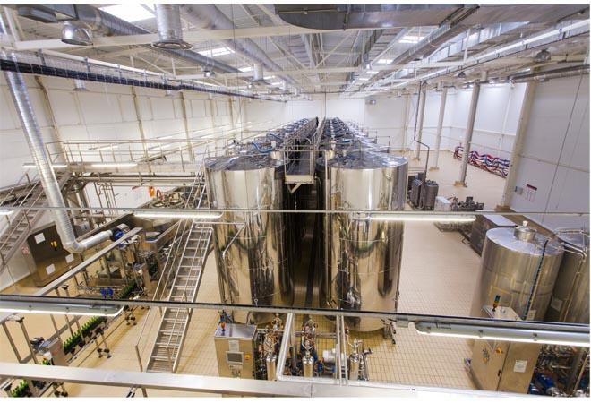 Création cave vinicole société Inkermann Chernomorets cuverie Maitrise d'oeuvre vinicole INGEVIN