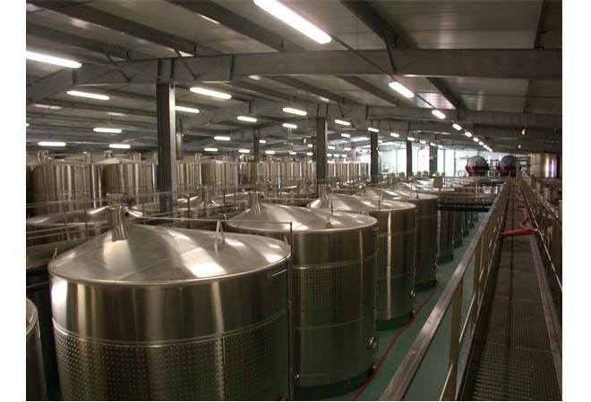 Création cave vinicole groupe Castel AOC Côtes de Provence cuverie Ingénierie vinicole INGEVIN