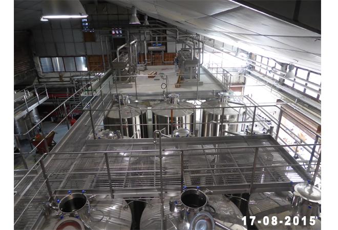Restructuration cave coopérative la Suzienne, outil de chauffage 17-08-2015 Maitrise