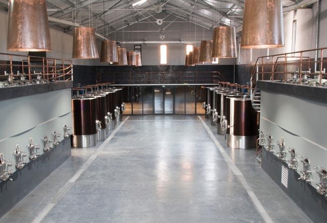 Création cave vinicole Prieuré Saint Jean de Bebian, VUE 2, Maitrise d'oeuvre vinicole INGEVIN