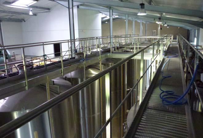Création cave vinicole Chateau de Millet VUE 2 Maitrise d'oeuvre viticole INGEVIN