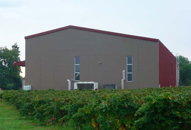Création cave vinicole Chateau de Millet VUE 3 Maitrise d'oeuvre viticole INGEVIN