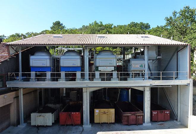 Restructuration de la cave coopérative la Suzienne Ingénierie vinicole Ingevin