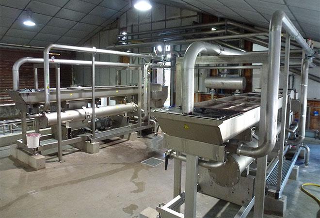 Restructuration cave coopérative la Suzienne ingénierie vinicole INGEVIN