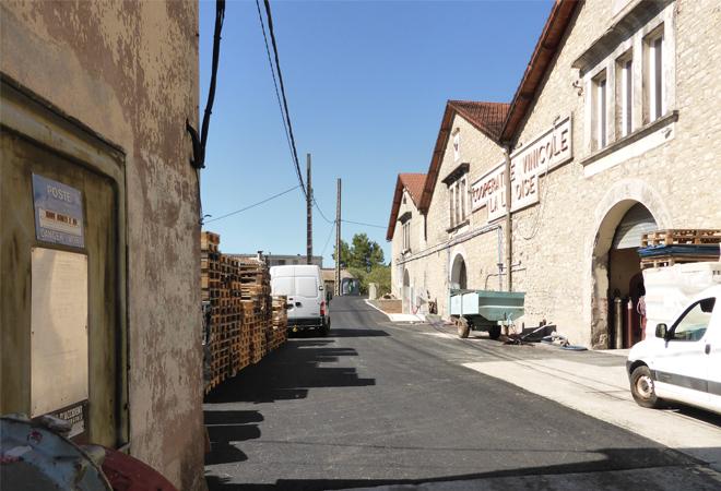 Restructuration cave coopérative du Luc VUE 1 maitrise d'oeuvre viticole INGEVIN