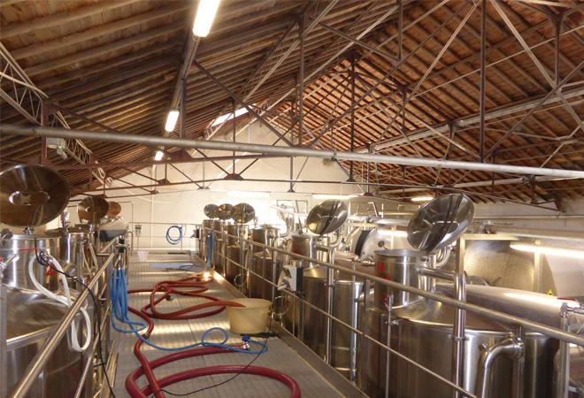 Restructuration cave coopérative du Luc VUE 2 maitrise d'oeuvre viticole INGEVIN