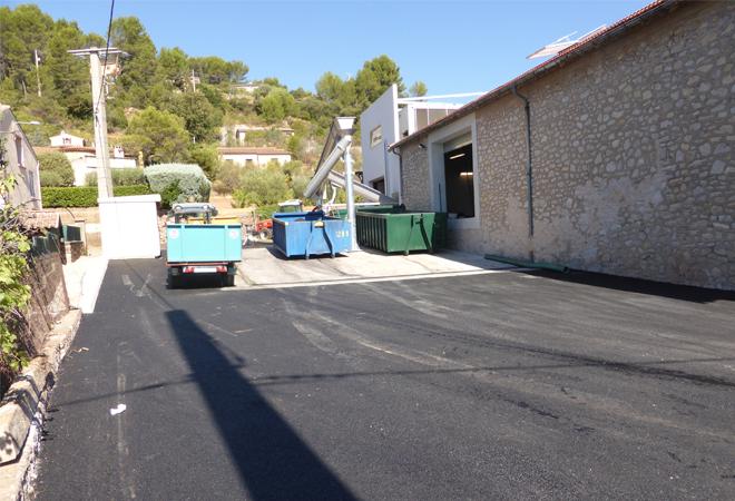 Restructuration cave coopérative du Luc VUE 3 maitrise d'oeuvre viticole INGEVIN