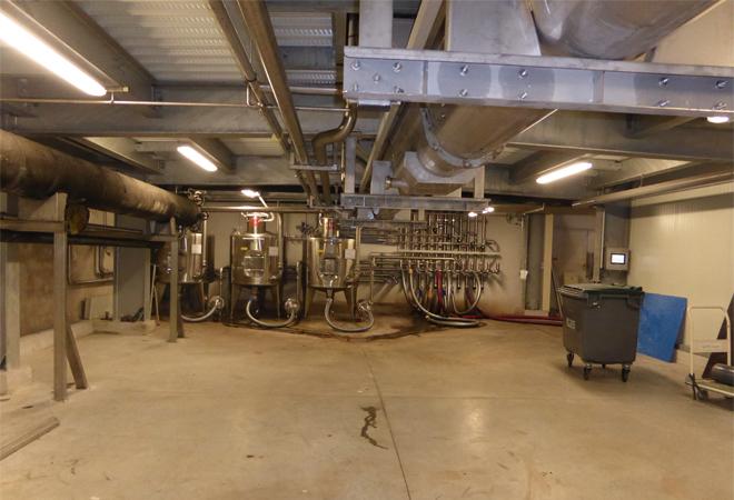 Restructuration cave coopérative du Luc VUE 4 maitrise d'oeuvre viticole INGEVIN