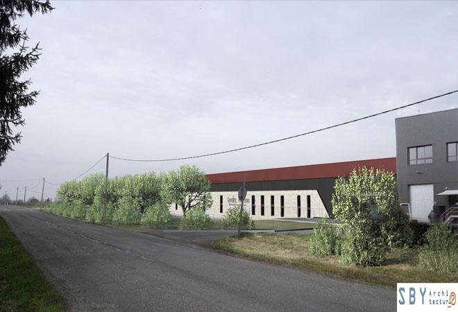 Création atelier de crémants Vignerons de Saint Pey genissac maitre d'oeuvre vinicole Ingevin Vue 5