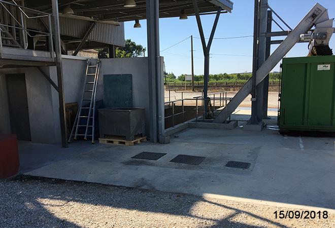 Modernisation de la cave coopérative d'Aramon maitre d'oeuvre vinicole INGEVIN Vue 9