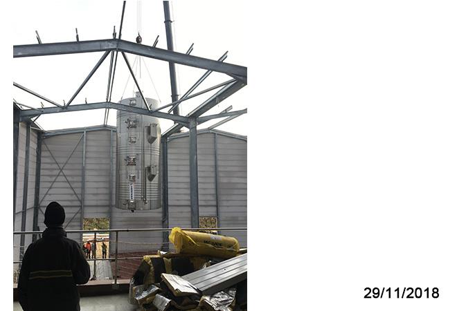 Restructuration cave cooperative d'ESTEZARGUES plan du projet maitrise d'oeuvre viticole INGEVIN vue 17
