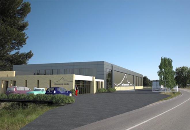 Création centre conditionnement Vignerons Pic Assas maitre d'oeuvre vinicole INGEVIN Vue 1