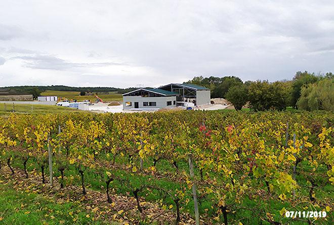 Extension et modernisation Chai - Vignobles Landié maitrise d'oeuvre vinicole INGEVIN Vue 5